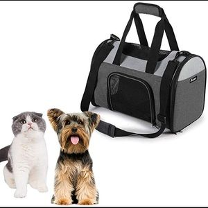 JESPET Soft-Sided Kennel Pet Carrier